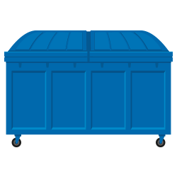 Contenedor de basura - Ecoruver